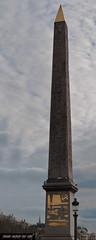 Obelisco di Louxor (frillicca) Tags: paris monument march îledefrance monumento obelisk obelisco francia marzo placedelaconcorde parigi 2015 obelisquédelouxòr