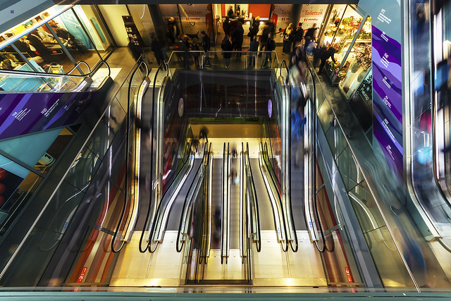 escalator heaven