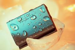 Rocnel Stainless Steel (koolandgang) Tags: ice roc se drops indoor closeshave safetyrazor classicshaving phead wetshave 105vrmicro nikond700 nikonsb900 singleedgerazor nikonsb700 316steel rocnel