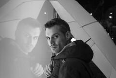 Stefanos Kastrinakis (Jetmir Metaliaj) Tags: blackandwhite rain store athens greece reflaction stefanos kastrinakis jetmirmetaliaj pirause