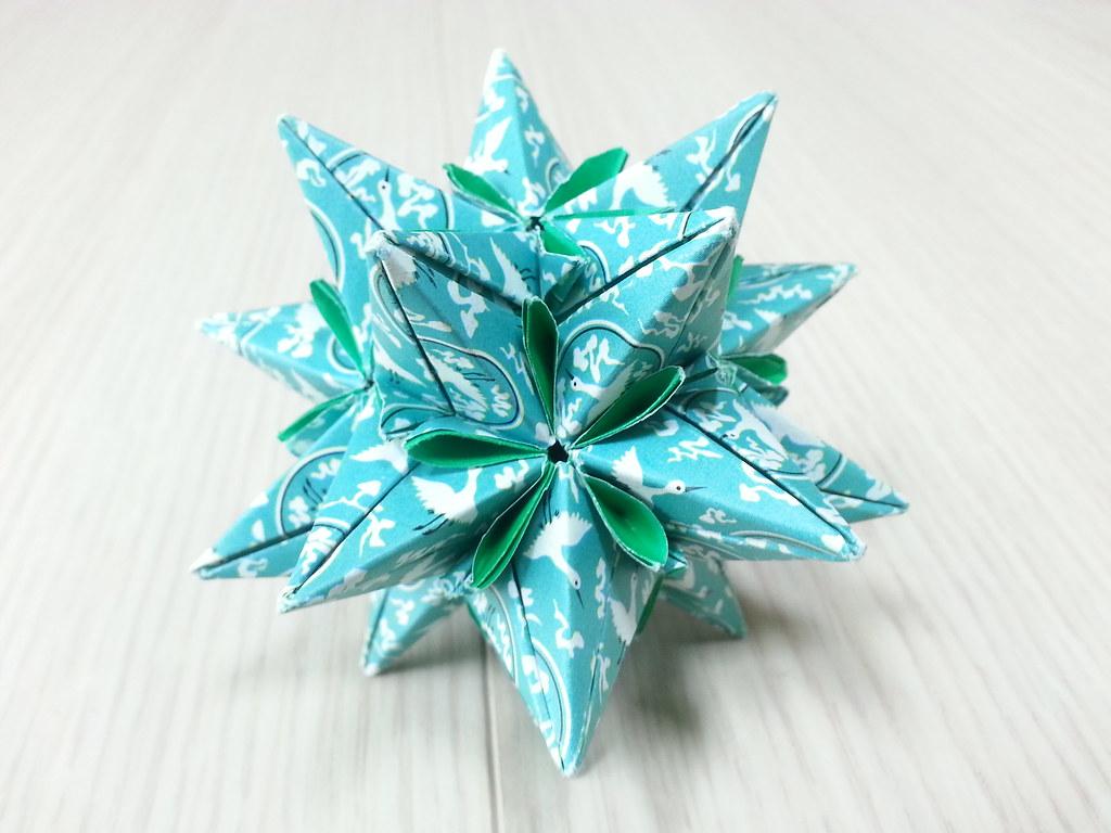 The World's Best Photos of icosahedron and kusudama ... - photo#19