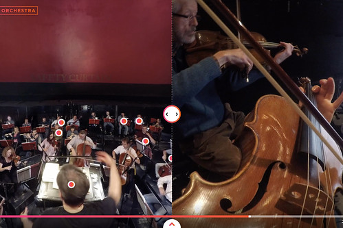 Interactive: Immerse yourself in our orchestra pit in 360 degrees