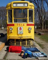 อยากดังบ้างไรบ้าง ถ่ายรูปหน้ารถไฟ 5555555