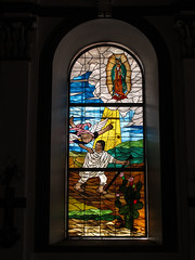 """San Cristóbal de las Casas: apparition de Notre-Dame de Guadalupe à Juan Diego <a style=""""margin-left:10px; font-size:0.8em;"""" href=""""http://www.flickr.com/photos/127723101@N04/25685656316/"""" target=""""_blank"""">@flickr</a>"""