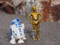 R2-D2 and C-3PO (tyxz) Tags: starwars r2d2 c3po droids
