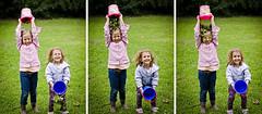 (::: M @ X :::) Tags: girls friends playing green topf25 children outdoors jardin topf amigas jugando secuencia