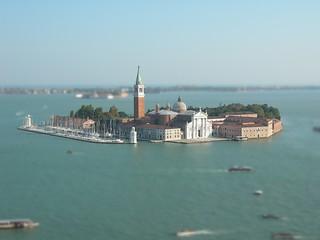 Tilt Shift - Venezia (San Giorgio Maggiore)