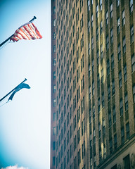 Wall Street (51) 63 (shooting all the buildings in Manhattan) Tags: nyc newyorkcity ny newyork architecture us manhattan flag september wallstreet 2015