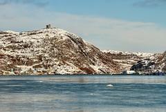 St. John's Harbour (Karen_Chappell) Tags: ocean blue white seascape canada newfoundland landscape scenery harbour scenic stjohns atlantic signalhill nfld eastcoast atlanticcanada avalonpeninsula