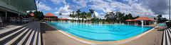 RSGC Pool 180 ( Slices of Light   ) Tags: panorama pool club swimming swim golf 4 royal samsung 180 note malaysia kuala kualalumpur kl stitched lumpur selangor  rsgc