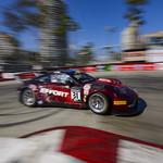 Long Beach Hairpin in a Porsche 911 GT3 R