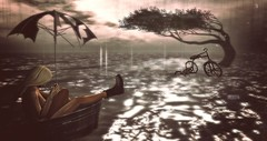 .Your river still grows inside of me (i  e R t i a) Tags: sea rain river hair sl secondlife soy virtualworld amacci shinyshabby rkposes
