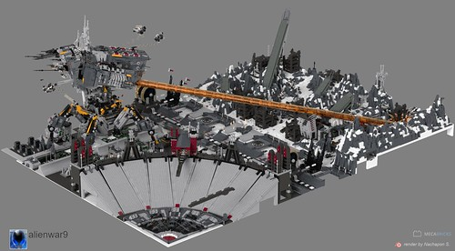alienwar9 26000 pcs MOC, 14M polygons mecabricks - a photo