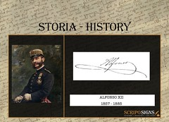 ALFONSO XII di Spagna (scripofilia) Tags: money museum gold collections wallstreet manuscript finance philately scripophily invest filatelia banknotes alfonsoxii banconote wertpapiere investinginhistory olddebt scripoart stockandbond scripobond scripofilia scripomarket scripomuseum scripopass scripopages