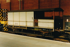 19910413 028 Marylebone. GWR 20T TOAD Brakevan ZTP DW68786 (15038) Tags: br trains goods toad railways freight britishrail wagons gwr brakevan londonmarylebone 68786