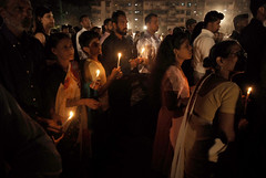 Easter day celebration , Mumbai (E R) Tags: easter faith candlelight christianity mumbai ethnicity resurrection relegion easterday younggirls catholics christianfaith youngkids mumbaichurch candlelightprayer catholicsinindia christianpopulationinindia mumbairelegion celebrationofeaster easterdaycelebration