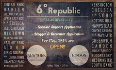 6º Republic Event: Sponsor Support / Blogger & Decorator Application OPEN!! (Mikaela Carpaccio - 6º Republic Event) Tags: