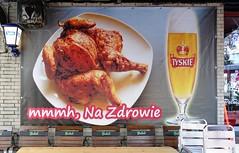 Na Zdrowie (txmx 2) Tags: food chicken beer poster restaurant hamburg polish stpauli reeperbahn nazdrowie whitetagsspamtags whitetagsrobottags