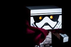 #Cloak (David C W Wang) Tags: red white black toy cloak       danboard