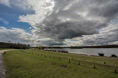 Jog around Rother Valley Country Park. (Craig Skinner - www.craigskinnerphotography.co.uk) Tags: park sky cloud lake water clouds nikon sheffield country reservoir tokina valley manmade circuit waterway watercourse rotherham rother d7100 1116mm