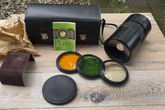 #CFS MC MTO-11CA lens kit (Arne Kuilman) Tags: bag lens forsale m42 kit filters cfs madeinrussia tekoop 1000mm 100010 mcmto11ca