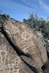 Petroglyphs / Blackrock Well Site (Ron Wolf) Tags: california abstract archaeology circle nationalpark nativeamerican salinevalley petroglyph anthropology shoshone rockart deathvalleynationalpark superimposition piute connectedcircles numic bisectedcircle tailedcircle