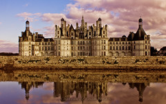 Chateau Chambord (KLammipic) Tags: light france castle de frankreich palace val chambord chateau loire schlos