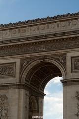 Arco de triunfo - Paris (Luciana Paoloni) Tags: paris france arcdetriomphe arcodetriunfo