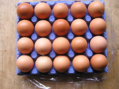 Dunnes Stores Better Value 20 Large hen Eggs 21052016 3.50 01-05-2016 - Tray 2 open (Lord Inquisitor) Tags: brown eggs hen dunnes eggcarton eggbox heneggs 21052016