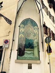 Firenze- tabernacolo di piazza Tasso (trovado73) Tags: copia giottino secxiv lamaest