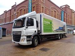 PF65LKG DAF CF 290 Euro6 on Bank Hey Street in Blackpool (j.a.sanderson) Tags: truck trucks blackpool cf daf 290 bankheystreet euro6