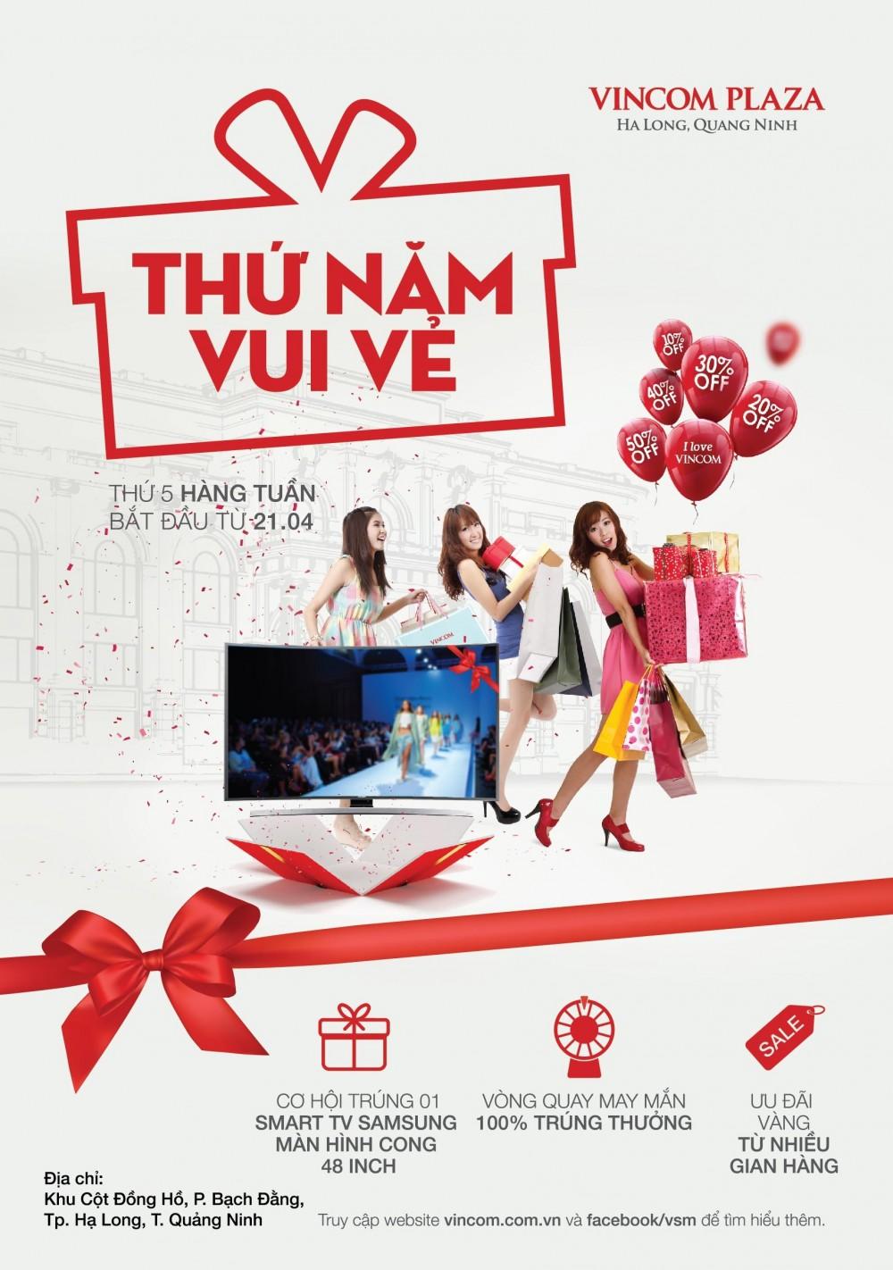 'Thứ Năm Vui Vẻ' tại Vincom Plaza Hạ Long, Quảng Ninh