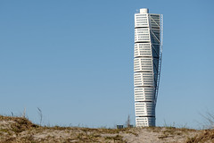 Turning Torso (Hkan Dahlstrm) Tags: santiago house architecture photography se skne sweden calatrava cropped torso malm f71 turning ribersborg 2016 vstra hamnen skneln xe2 xc50230mmf4567ois sek 2011042016165044