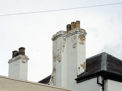 Chimney Pots, Monnow Street, Monmouth 28 April 2016 (Cold War Warrior Follow Me on Ipernity) Tags: monmouth chimneypot