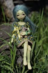 Green beauty (Sendell_Caramdir) Tags: green nature dolls bjd resin noble jpop rglisse legit reglisse safrindoll