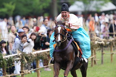 Running fast (Teruhide Tomori) Tags: horse sports festival japan kyoto event   horseracing tradition japon  kamigamoshrine