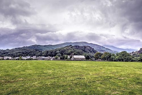 Beddgelert, Snowdonia, North Wales.