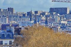 Paris Avril 2016 - 166 es toits dans le Vime arrondissement, vers le XIime et le XXime arrondissement (paspog) Tags: paris france spring roofs april avril printemps frhling toits 2016 decken toitsdeparis