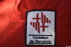 Escut dels Castellers de Barcelona a la seva camisa (Cargolins) Tags: castellers escut 2016 castells castellersdebarcelona