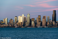 160329 Seattle-04.jpg (Bruce Batten) Tags: seattle usa buildings reflections boats us washington unitedstates sunsets vehicles trips pugetsound subjects locations occasions urbanscenery northpacificocean cloudssky atmosphericphenomena oceansbeaches businessresearchtrips