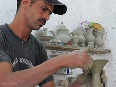 Arte (Re Silveira) Tags: art ceramic factory arte morocco fez marruecos cermica fes marrocos fs fezelbali ceramicfez