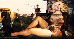 HOLIDAY (Annyzinh Oliveira) Tags: black fashion wow hair dc truth skins spirit fair event mmc renegade ariskea moderncouture