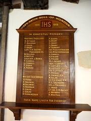 War Memorial, Ightham Mote, Kent (Brownie Bear) Tags: uk england kent britain united great kingdom gb moat item ightham mote