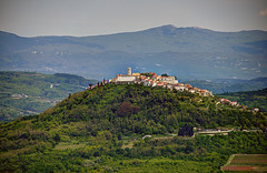 Motovun, Croatia - view from Viinada (David Pirmann) Tags: croatia hilltop istria motovun