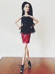 Ayumi Power house  NuFace Fashion Royalty (super.star.76) Tags: woman face fashion asian model doll dolls power nu royalty ayumi toyland 2016 nuface