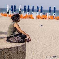 DSC03256 (ranblv) Tags: ocean summer beach outdoors 50mm israel telaviv sand bokeh sony a6000 ranblv