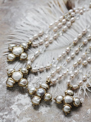 N-4212, N-4213, N-4214, N-4215 (Kotomi_) Tags: vintage necklace costume handmade style jewelry medieval jewellery collection polymerclay historical period byzantine springsummer naturalstone semiprecious 2016  kotomi    kotomiyamamura kotomijewellery