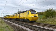 43062. 'Improving Your Railway' ... (Alan Burkwood) Tags: test train retford hst networkrail gamston 43062 causewaylane johnarmitt