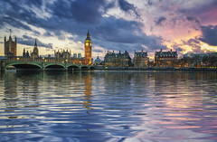 westminster (Mark Schlicht) Tags: city uk travel houses sunset england urban panorama building london tower english history clock tourism westminster thames river big hands exterior power place time ben britain united traditional famous politics capital large culture dial kingdom parliament bigben landmark icon palace panoramic steeple spire number national government historical tall