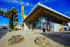 Yucca Valley Liquor (ken.larmon) Tags: california architecture hdr liquorstore yuccavalley hdrphotography yuccavalleycalifornia kenlarmon yuccavalleyliquors kenlarmonphotography yuccavalleyliquor